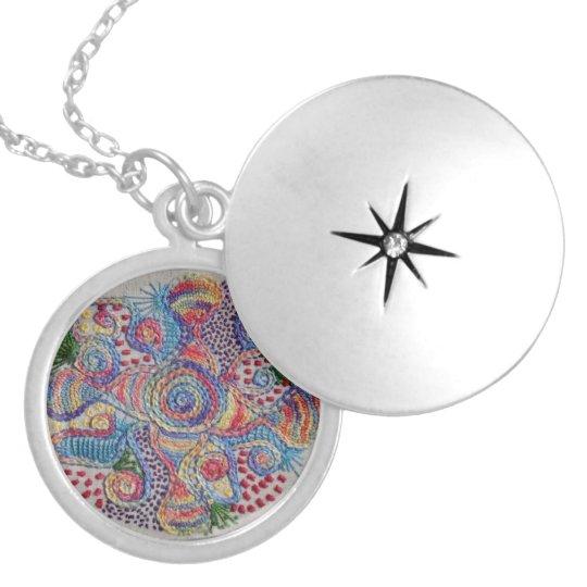 Colours of Life Mandala Necklace