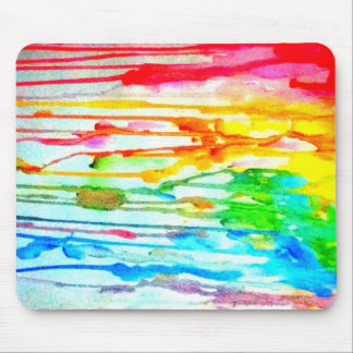 Colours of life mouse mat