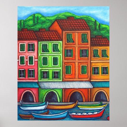 Colours of Liguira Print by Lisa Lorenz