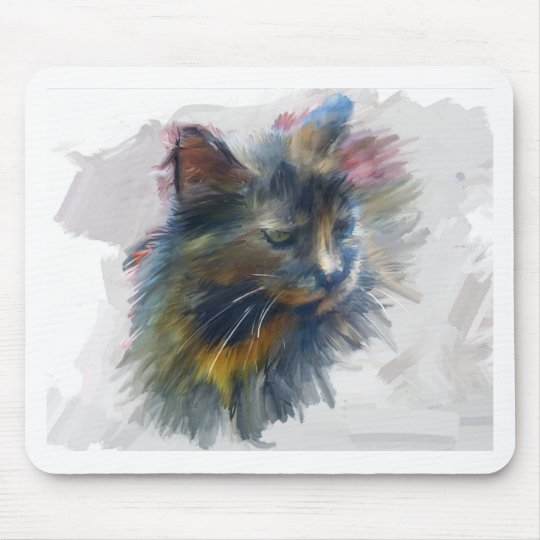 Colours of love mouse mat