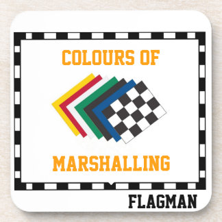 'Colours of Marshalling' by Flagman Coaster