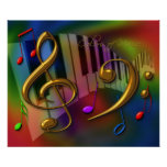 colours of music 20x24 print