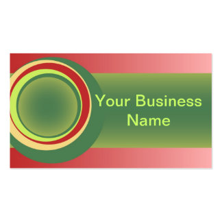 Colours of Nature, the desert Pack Of Standard Business Cards