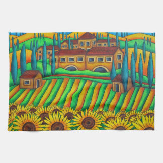 Colours of Tuscany American MoJo Kitchen Towel