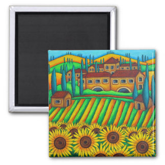 Colours of Tuscany Magnet