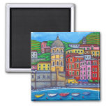 Colours of Vernazza Magnet
