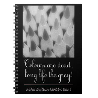 Colours plows dead, long life the congregation! notebook