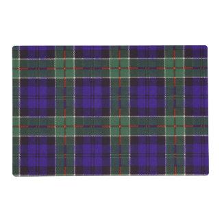 Colquhoun clan Plaid Scottish tartan Laminated Placemat