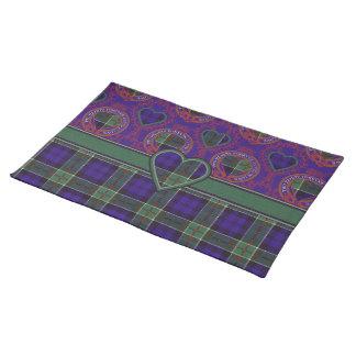Colquhoun Scottish Tartan Placemats