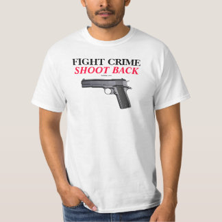 COLT 1911 FIGHT CRIME T SHIRT