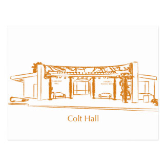 Colt Hall Post Cards