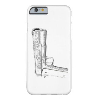 Colt pistol barely there iPhone 6 case