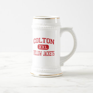 Colton - Yellow Jackets - High - Colton California Beer Steins