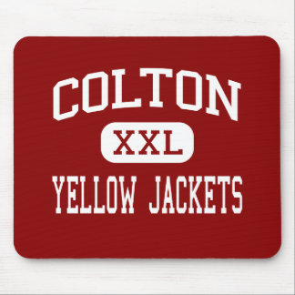Colton - Yellow Jackets - High - Colton California Mouse Pad