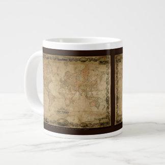 Colton's Old World Map Jumbo Soup Mug Jumbo Mug