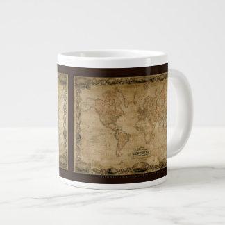 Colton's Old World Map Jumbo Soup Mug Jumbo Mugs