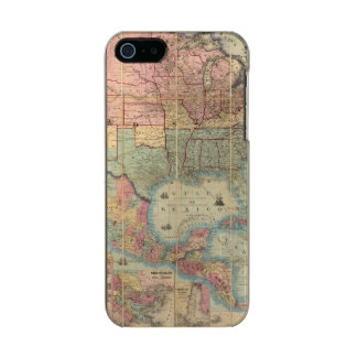 Colton's Railroad And Military Map Incipio Feather® Shine iPhone 5 Case