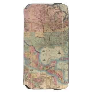 Colton's Railroad And Military Map Incipio Watson™ iPhone 6 Wallet Case