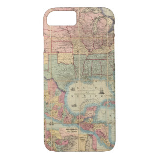 Colton's Railroad And Military Map iPhone 7 Case
