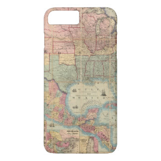 Colton's Railroad And Military Map iPhone 8 Plus/7 Plus Case