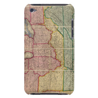 Colton's Railroadand County Map, United States iPod Touch Cases