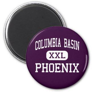Columbia Basin - Phoenix - Moses Lake 6 Cm Round Magnet