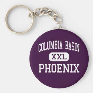 Columbia Basin - Phoenix - Moses Lake Basic Round Button Key Ring