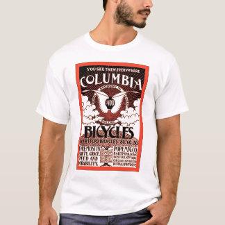 Columbia Bicycles ~ Vintage Bicycle Advertising T-Shirt