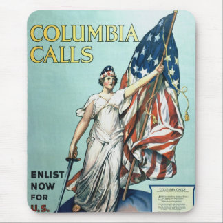 Columbia calls mouse pad