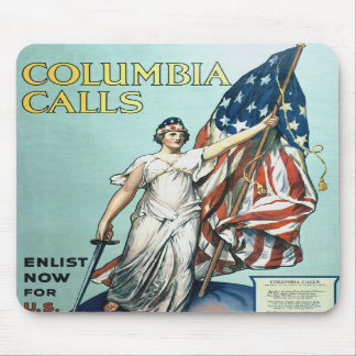 Columbia calls mouse pads