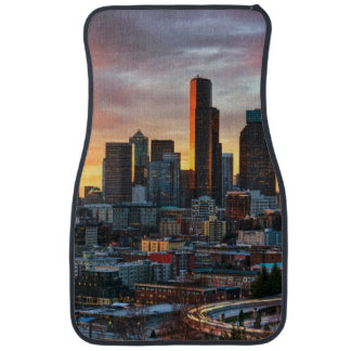 Columbia center and downtown Seattle, Seattle Car Mat