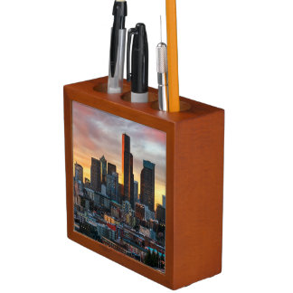 Columbia center and downtown Seattle, Seattle Desk Organiser