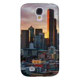 Columbia center and downtown Seattle, Seattle Galaxy S4 Case