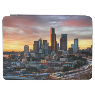Columbia center and downtown Seattle, Seattle iPad Air Cover