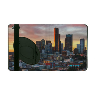 Columbia center and downtown Seattle, Seattle iPad Case