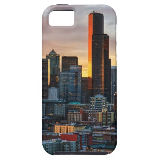 Columbia center and downtown Seattle, Seattle iPhone 5 Cases