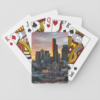 Columbia center and downtown Seattle, Seattle Playing Cards
