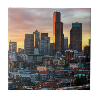 Columbia center and downtown Seattle, Seattle Tile