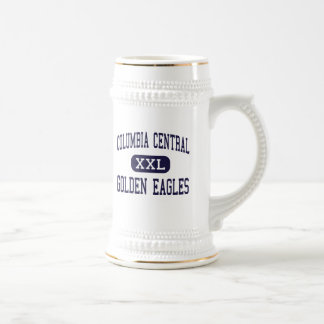 Columbia Central - Golden Eagles - High - Brooklyn Beer Steins