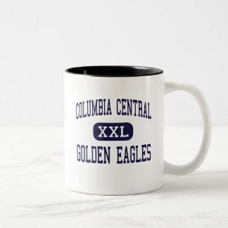 Columbia Central - Golden Eagles - High - Brooklyn Two-Tone Mug