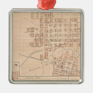 Columbia City, Whitley Co Christmas Ornament