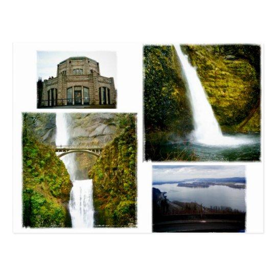 Columbia river gorge postcard oregon