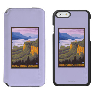 Columbia River Gorge Scene with Crown Point Incipio Watson™ iPhone 6 Wallet Case