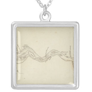 Columbia River Silver Plated Necklace