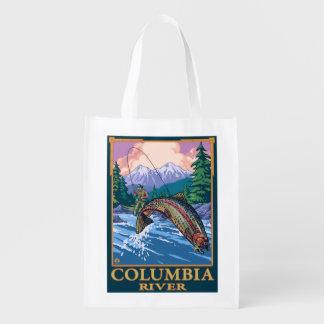Columbia River, WashingtonFly Fishing Scene