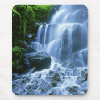 Columbia River Waterfall Fine Photo Mouse Mat