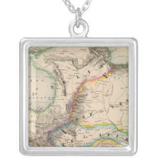 Columbia, South America 2 Silver Plated Necklace