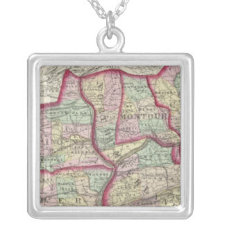 Columbia, Union, Snyder, Montour Silver Plated Necklace