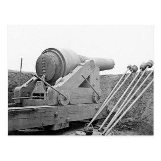 Columbiad Gun: 1865 Postcard