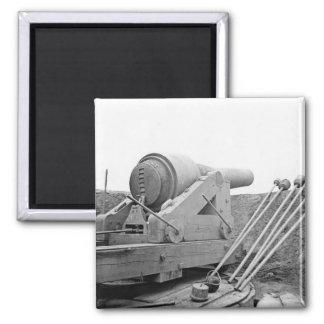 Columbiad Gun: 1865 Square Magnet